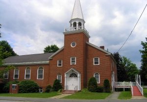 Henderson Memorial Baptist Church in Farmington, Maine